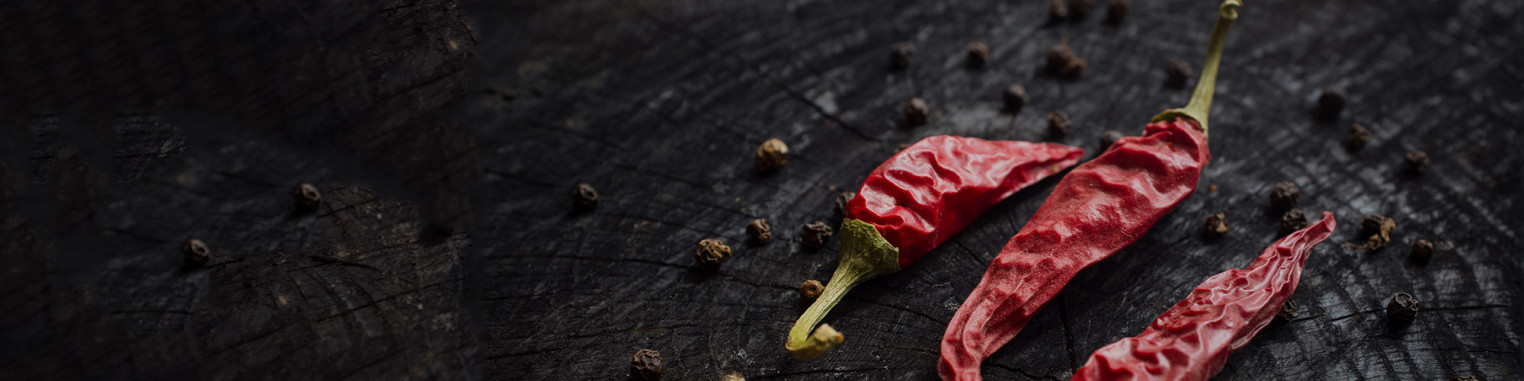 our selection of chili pepper