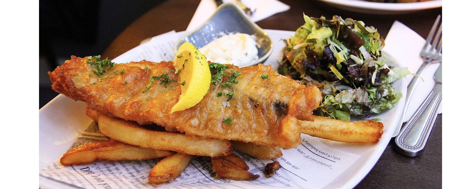 Image Sauces piquantes pour Fish'N'Chips