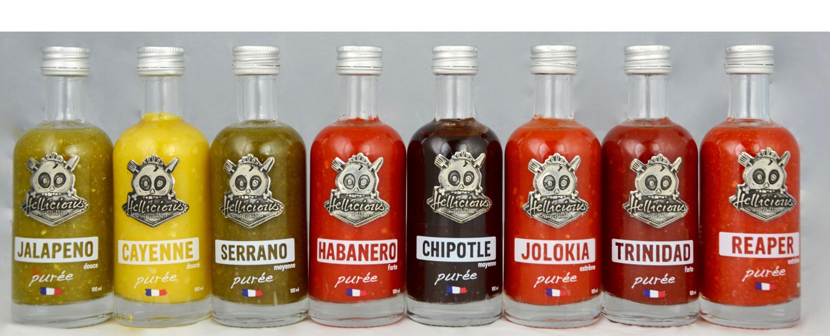 Image Les sauces Hellicious
